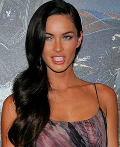 """I have a mouth,  and I'm not afraid to use it."" --Megan Fox (Photo by: Nicoles Genim)"