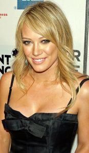 """I ate a bug once. It was flying around me. I was trying to get it away. It went right in my mouth."" -- Hilary Duff (photo by David Shankbone)"