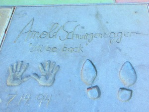 Photo by: Susan Marg. Taken at Grauman's Chinese Theatre; Hollywood Boulevard.