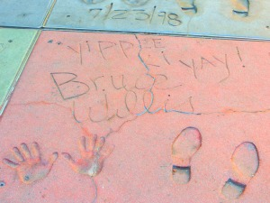 Photo by Susan Marg. Taken at Grauman's Chinese Theatre; Hollywood Boulevard.