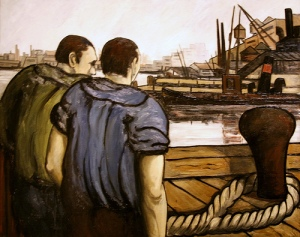 Oil on canvas 1934 by Pino Janni. Photo by: cliff1066.